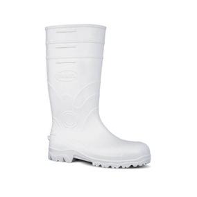 0c76015a2a6e6 Sapato Branco Segurança Pvc - Sapatos no Mercado Livre Brasil