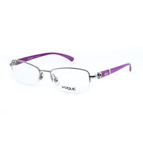 d7fb4ee283542 Oculos Grau Vogue Metal - Óculos no Mercado Livre Brasil