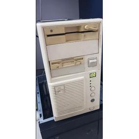 Computador 486 Dx4 100 Completo Com Monitor Mouse E Teclado