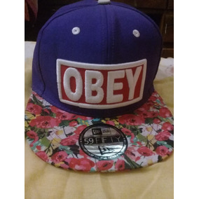 Gorras Planas Obey Blancas - Ropa 7787d5f8306