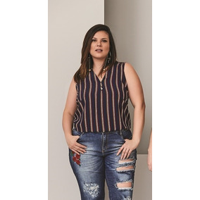 Blusa Feminina Regata Viscose Social - Calçados bfcc94dc370