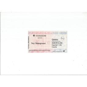Ingresso Colecionados Olhos De Farol Canecão 1999