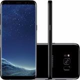 Samsung Galaxy S8 Novo, Dual Chip Preto Com 64gb, Tela 5.8