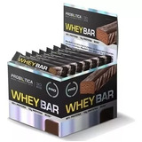 Whey Bar - 24 Un. Probiótica - Barra Proteina - Sabores