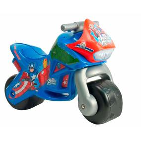 Montable Moto Corre Pasillos Twin Avengers Injusa