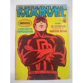 Superaventuras Marvel Nº 3 - 1982 - Ed. Abril - Rara !