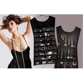 Organizador De Accesorios En Forma De Vestido Rosa Y Negro