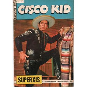 Superxis Nº 21 - Cisco Kid - Ebal-1959 - Muito Bom Gibinele