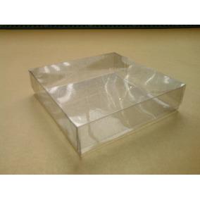 50 Cajas De Acetato 10x10x2.5 Cms.envio Incluido