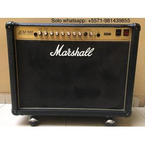 Amplificador Marshall Jcm 900 Modelo 4102 2x12 Tubos Valvula