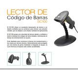 Lector De Código De Barras 3nstar Sc100, 1d, Usb. Color Negr