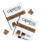 Kit 20 Cápsulas Cappuccino Com Canela Compatíveis Nespresso