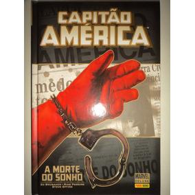 Capitao America Morte No Sonho Panini Books De Luxe Excelent