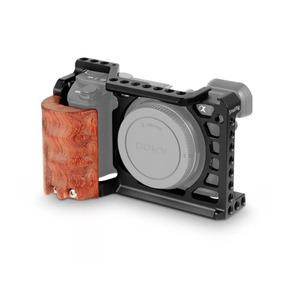 Smallrig Cage + Handgrip De Madeira Sony A6500/6300 Pegada