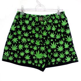 Cueca Samba Canção Cannabis Maconha Marijuana Preta Rb
