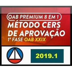 Oab 29_primeira Fase 2019,2 Combo 8 Em 1 + Brinde