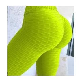 Leggins Tipo Corrugado Deportivo Mujer Gimnasio Sport