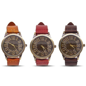 Relógios Feminino Pulseira Em Couro Retro Vintage Promoção