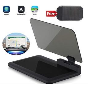 Suporte Hud Navegação Gps Celular Projetor Carro Refletor.