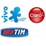 Recarga Celular Crédito Online Claro Vivo Tim Nextel R$15