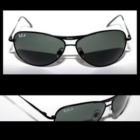 cd503844bb063 Óculos De Sol Ray Ban 8015 Preto Lente G15 - Óculos no Mercado Livre ...