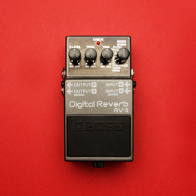 Pedal Boss - Digital Reverb Rv-5