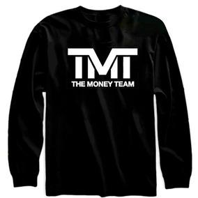 Playera Tmt The Money Team Box Manga Larga Moda Unisex