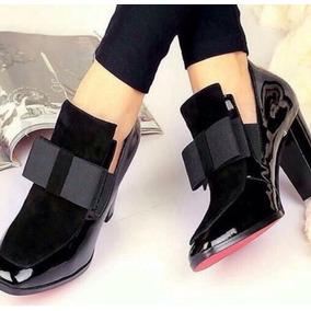 Zapato Mujer Moño Charol 7 2 Sandra Cano Shoes 826adf0c7729