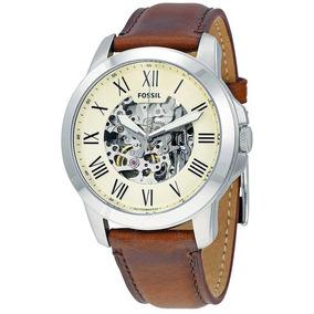 cd20b58b2bc Relogio Automatico Pulseira Couro - Relógio Masculino no Mercado ...
