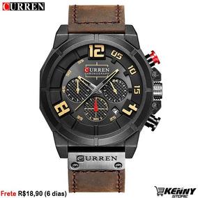 Relógio Masculino Curren 8287 Aço Inoxidável (frete Fixo)
