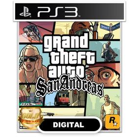 Gta Grand Theft Auto San Andreas Ps3 Psn Digital Envio Hoje