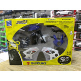 1:12 Suzuki Gsx R1000 Moto P Armar New Ray