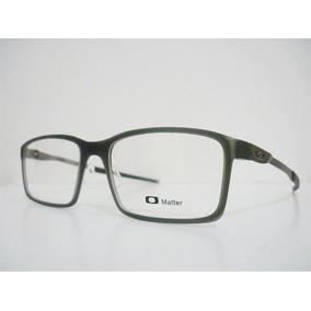 3b08511c7 Armação Oculos Oakley 0173 Em Aluminio Na Cor Cinza. Veja! - Óculos ...
