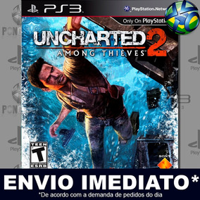 Ps3 Uncharted 2 Among Thieves Goty Edition Mídia Digital Psn