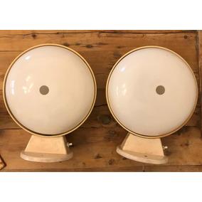 Veladores Retro Vintage Década Del 70 De Acrílico