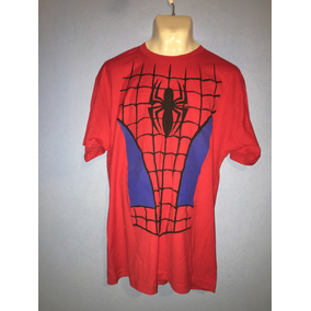 Playera Torso De Spiderman Hottopic