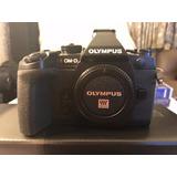 Olympus Camara Digital Om-d E-m1 Micro 4 Tercios Solo Cuerpo