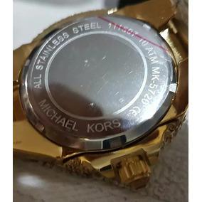 Relogio Dourado Feminino Michael Kors Com Strass - Joias e Relógios ... ff32228749