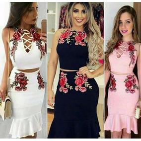 94f9d8c48c7 Vestido Sereia Curto Malha - Vestidos Curtos Femininas no Mercado ...