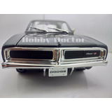 Clasico Dodge Charger Rt A Escala 1:18