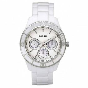 39213d71e2d Relogio Fossil Ceramica Branco Madreperola - Relógios De Pulso no ...