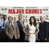Dvd Seriado Major Crimes - 1ªa6ª Temporada Dublado + Encarte