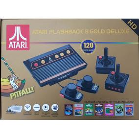 Atari Flashback 8 Gold Consoles De Atari No Mercado Livre Brasil