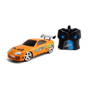 Rapido Y Furioso Auto De Coleccion Con Rc Toyota Supra De Br