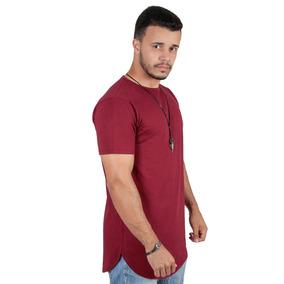 Kit C/5 Camiseta Camisa Oversized Longline Masculina Swag