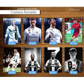 Caderno De 1 Matéria - Cristiano Ronaldo - Cr7