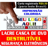 1360 Lacres Casca De Ovo 1x1 Cm / Veja Outros / Frete R$9,50
