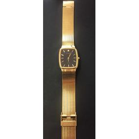 Reloj Citizen Azteca Caballero Chapa De Oro (original)