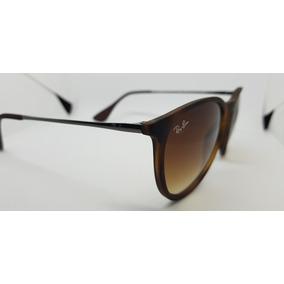 Óculos De Sol Ray-ban Érika Rb4171 Marrom Tartaruga Original 4924868939