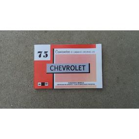 Chevrolet C-10 Manual Reprodução 1974/75/76